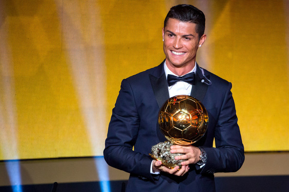 Image result for cristiano ronaldo ballon d'or 2017 zimbio