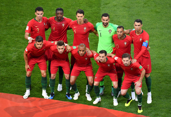 Iran Vs. Portugal: Group B - 2018 FIFA World Cup Russia [team,team sport,soccer player,football player,player,sports,ball game,sport venue,sports equipment,soccer,portugal: group b - 2018 fifa world cup,group b match,russia,portugal,saransk,mordovia arena,iran]