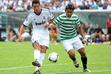 Cristiano Ronaldo Celtic v Real Madrid