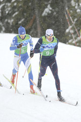 Vincent Vittoz Cross-Country Skiing - Day 13