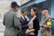 THR Crown Princess Mary of Denmark visits at the border village of panmunjom between South and North Korea in the demilitarized zone (DMZ) on May 13, 2012, South Korea. The Crown Prince and Crown Princess of Denmark are on a six-day visit to South Korea.