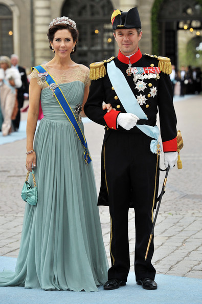 Princess Mary and Crown Prince Frederik - Wedding Of Swedish Crown Princess Victoria & Daniel Westling - Arrivals