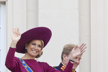 Crown Prince Willem-Alexander Dutch Royals Attend Budget Day At The Hague
