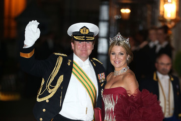 Crown Prince Willem-Alexander The Wedding Of Prince Guillaume Of Luxembourg & Stephanie de Lannoy - Gala Dinner