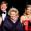 Crown Prince Willem-Alexander Of The Netherlands Queen Beatrix Hosts a Dinner Ahead of Her Abdication