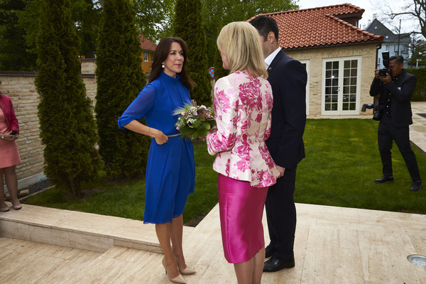 The Crown Princess Mary of Denmark Attends the Women Deliver Conference in Copenhagen