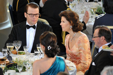 Silvia of Sweden Crown Princess Victoria & Daniel Westling: Pre Wedding Dinner - Inside