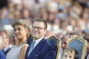 Prince Daniel and Princess Estelle of Sweden Photos Photo