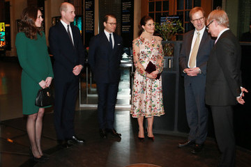 Crown The Duke and Duchess of Cambridge Visit Sweden and Norway - Day 1