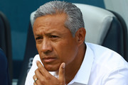 Roberto Hernandez, Head Coach of Morelia looks on during the 16th round match between Cruz Azul and Morelia  as part of the Torneo Clausura 2018 Liga MX at Azul Stadium on April 21, 2018 in Mexico City, Mexico.