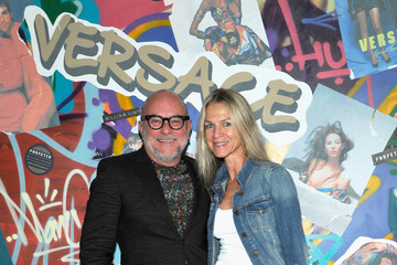 Crystal Lourd Farfetch and William Vintage Celebrate Gianni Versace Archive hosted by Elizabeth Stewart and William Banks-Blaney