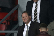 Newcastle United owner Mike Ashley is seen in the stands during the Premier League match between Crystal Palace and Newcastle United at Selhurst Park on September 22, 2018 in London, United Kingdom.