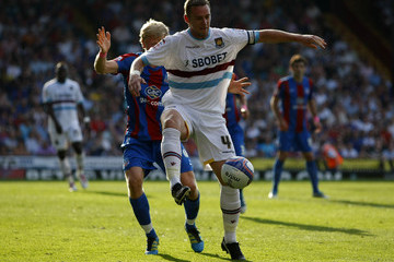 Kevin Nolan Jonathan Parr Crystal Palace v West Ham United - npower Championship