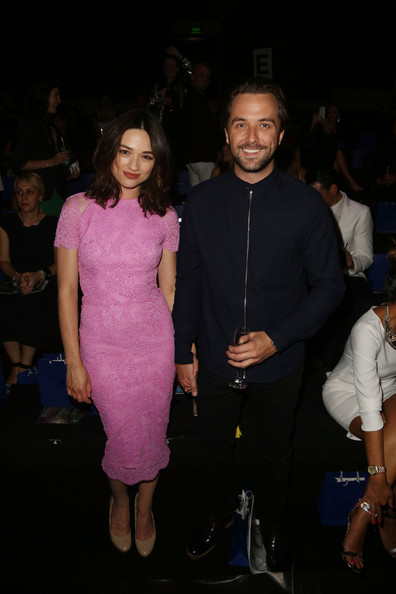 Crystal Reed - Front Row at the Swarovski Show