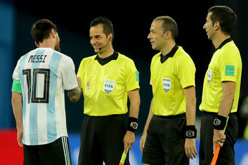 Cuneyt Cakir Nigeria Vs. Argentina: Group D - 2018 FIFA World Cup Russia