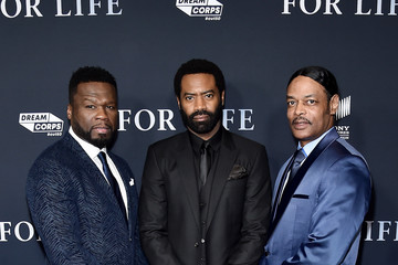 "Curtis ""50 Cent"" Jackson ABC's ""For Life"" New York Premiere"