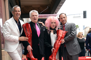 Cyndi Lauper Harvey Fierstein Cyndi Lauper and Harvey Fierstein Honored With Double Star Ceremony on the Hollywood Walk Of Fame
