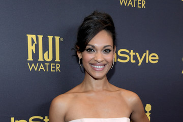 Cynthia Addai-Robinson FIJI Water At The Hollywood Foreign Press Association And InStyle's Celebration Of The 2017 Golden Globe Awards Season