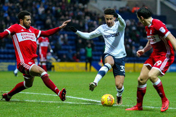 Cyrus Christie Preston North End v Middlesbrough - Sky Bet Championship