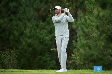 D.J. Trahan AT&T Pebble Beach Pro-Am - Round One