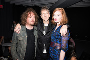 "(L-R) Jonah Freeman, Jefferson Hack and Jessica Joffe attend the DAZED and Red Bull Studios New York Opening Of ""Scenario In The Shade"" Hosted By Jefferson Hack, Jonah Freeman, Justin Lowe, And Jennifer Herrema at Red Bull Studios New York on September 10, 2015 in New York City."