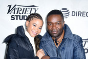 Storm Reid (L) and David Oyelowo stop by DIRECTV Lodge presented by AT&T during Sundance Film Festival 2019 on January 27, 2019 in Park City, Utah.