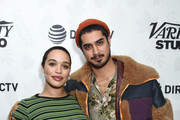 """Cleopatra Coleman (L) and Avan Jogia at the """"The Wolf Hour"""" party at DIRECTV Lodge presented by AT&T at Sundance Film Festival 2019 on January 26, 2019 in Park City, Utah."""