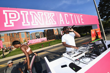 DJ Irie Victoria's Secret PINK Launches Ultimate Sports Bra at Ohio State University
