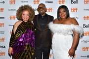 Ruth E. Carter, Mike Epps and Da'Vine Joy Randolph attend the world premiere of 'DOLEMITE IS MY NAME' at The Princess of Wales Theatre on September 07, 2019 in Toronto, Canada.