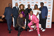 Wesley Snipes, Keegan-Michael Key, Ruth E. Carter, Eddie Murphy, Da'Vine Joy Randolph, Craig Robinson, Mike Epps and Tituss Burgess attend the world premiere of 'DOLEMITE IS MY NAME' at The Princess of Wales Theatre on September 07, 2019 in Toronto, Canada.