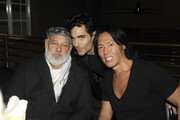 Bruce Weber, James Kaliardos and Stephen Gan attend a private cocktail and dinner party hosted by DSQUARED2 Designers Dean & Dan Caten and VMAN Magazine at The Webster on December 2, 2011 in Miami, Florida.