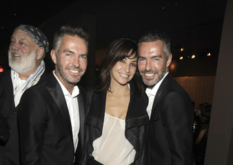 Gina Gershon DSQUARED2 Designers Dean & Dan Caten and VMAN Magazine Host Exclusive Cocktail and Dinner at The Webster Miami - Art Basel Miami Beach 2011