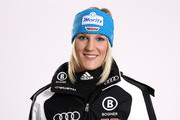 Alpine skier Susanne Riesch of Germany poses during a photo call on October 26, 2010 in Ingolstadt, Germany.