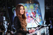 Negin Mirsalehi speaks onstage during The Daily Front Row's 7th annual Fashion Media Awards on September 05, 2019 in New York City.