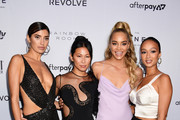 (L-R) Nicole Williams, Raissa Gerona,  Jasmine Sanders, and Draya Michele attend The Daily Front Row's 7th annual Fashion Media Awards on September 05, 2019 in New York City.