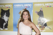 Nikki Sanderson attends the Daily Mirror & RSPCA Animal Hero AWards at 8 Northumberland Avenue on October 21, 2015 in London, England.