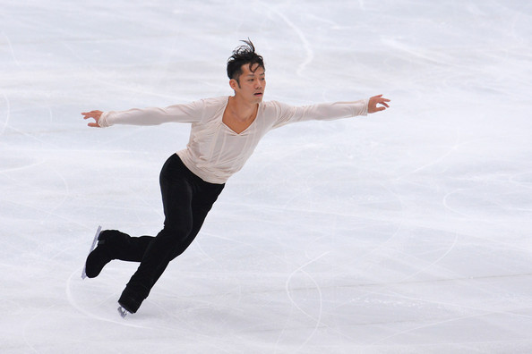 Daisuke Takahashi Daisuke Takahashi of Japan performs during the Japan Open 2013 Figure Skating at Saitama Super Arena on October 5, 2013 in Saitama, Japan.