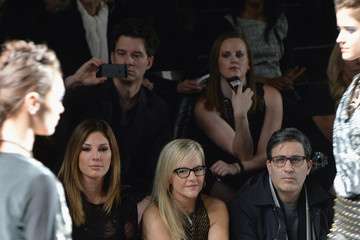 Daisy Fuentes Nicole Miller - Front Row - Mercedes-Benz Fashion Week Fall 2014