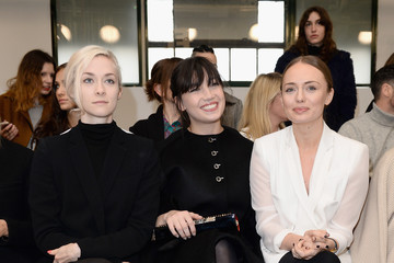 Daisy Lowe Portia Freeman Front Row & Celebrities: Day 4 - LFW AW16