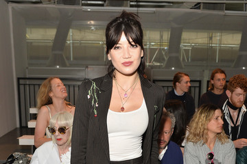 Daisy Lowe Front Row & Arrivals: Day 1 - LFWM June 2017