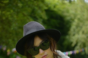 Daisy Lowe Celeb Sightings at the Glastonbury Festival