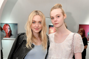 Dakota Fanning Anton Yelchin Photography Exhibit
