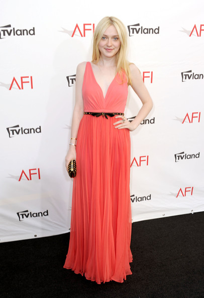 Dakota Fanning - 40th AFI Life Achievement Award Honoring Shirley MacLaine - Red Carpet