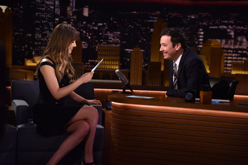 Dakota Johnson Dakota Johnson Visits 'The Tonight Show Starring Jimmy Fallon'