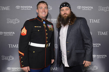 Dakota Meyer Preparation for the PEOPLE/TIME Party in Washington, D.C.