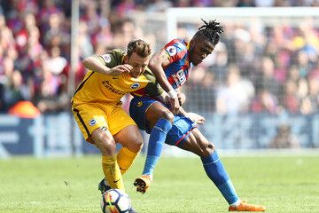 Dale Stephens Crystal Palace vs. Brighton And Hove Albion - Premier League