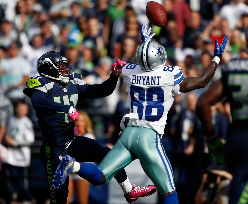 Dez Bryant And Byron Maxwell Photos Photos Dallas Cowboys