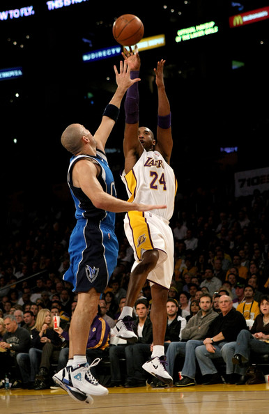 Kobe Bryant, Jason Kidd - Dallas Mavericks v Los Angeles ...