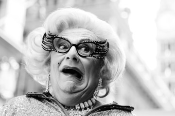 Dame Edna Everage Dame Edna Does Live Zumba Class