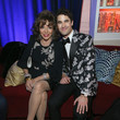 Dame Joan Collins FOX, FX And Hulu 2019 Golden Globe Awards After Party - Inside
